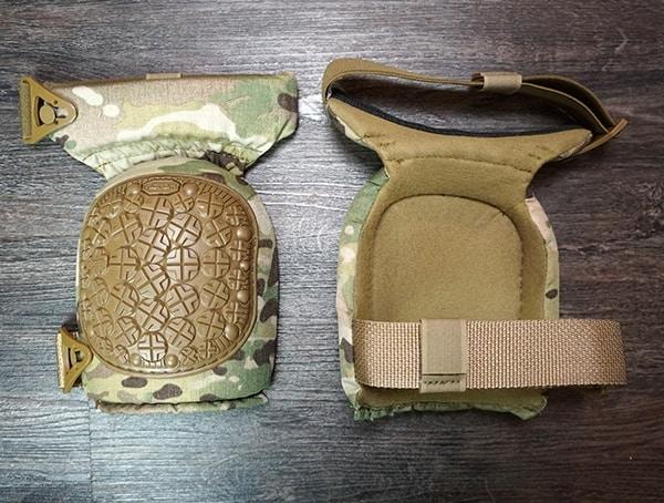 Tactical Knee Pads For Men Altacontour 360 Multicam Vibram Cap