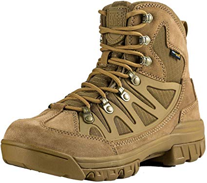 tactical military combat ankle boots
