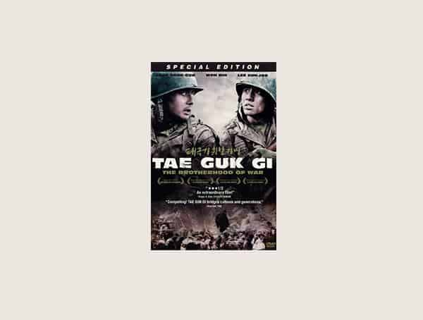 Tae Guk Gi Mens Best War Movies