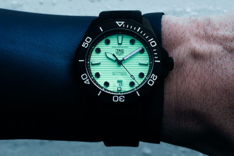 TAG Heuer Brings Back James Bond's 'The Living Daylights' Dive Watch