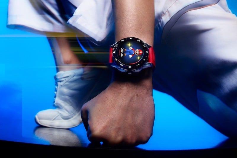 TAG Heuer x Super Mario Digital Watch Collab