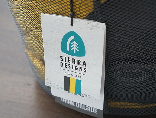 Tag Think Outside Sierra Designs Nitro 800 20 Degree Sleeping Bag