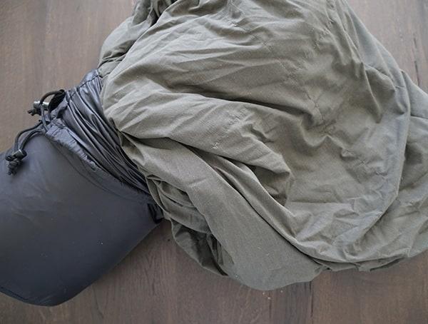 Takibi Kake Futon Down Blanket With Compression Sack