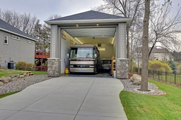 Tall Detached Garage Ideas For Rv Camper