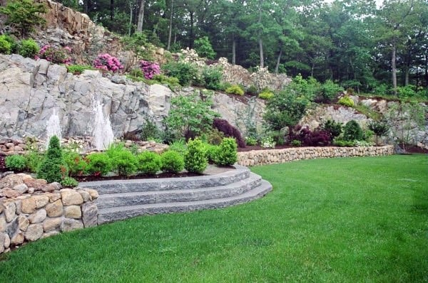 Tall Retaining Wall Ideas