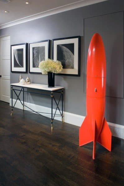 Tall White Painted Modern Baseboard Ideas