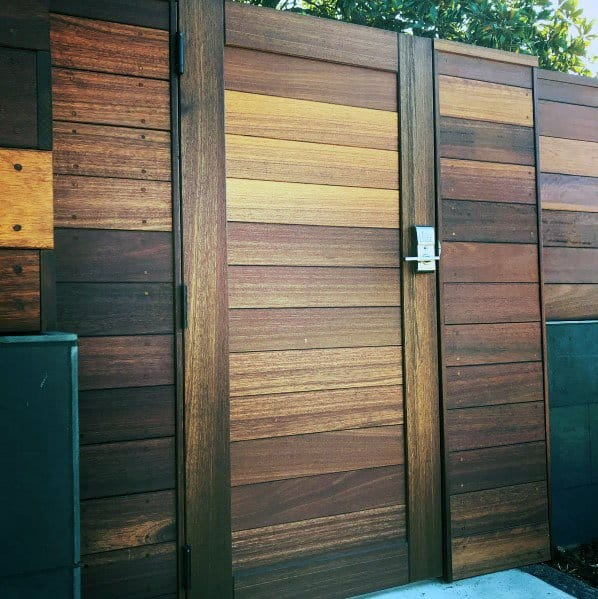 Home Design Gate Ideas: Top 40 Best Wooden Gate Ideas