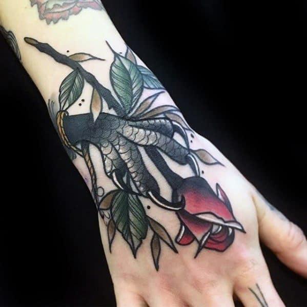 Talon Mens Tattoo Designs