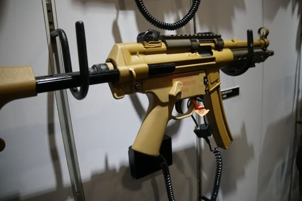 Tan Heckler And Koch Mp5