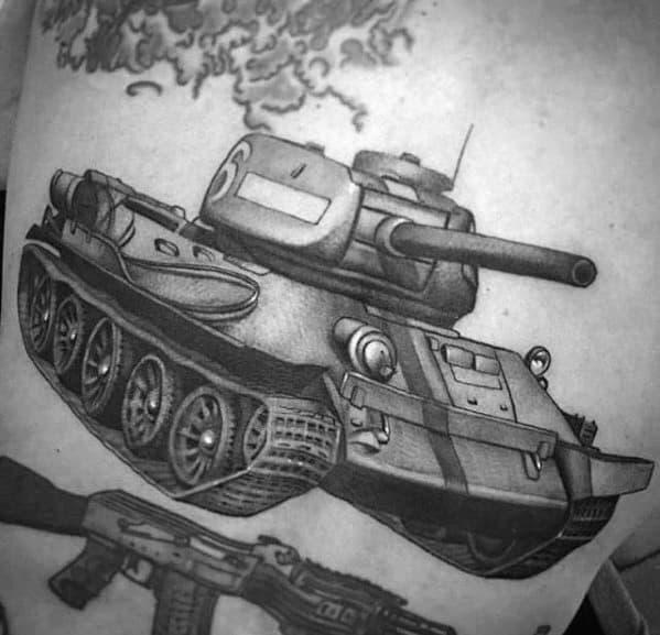 Tank Male Tattoos