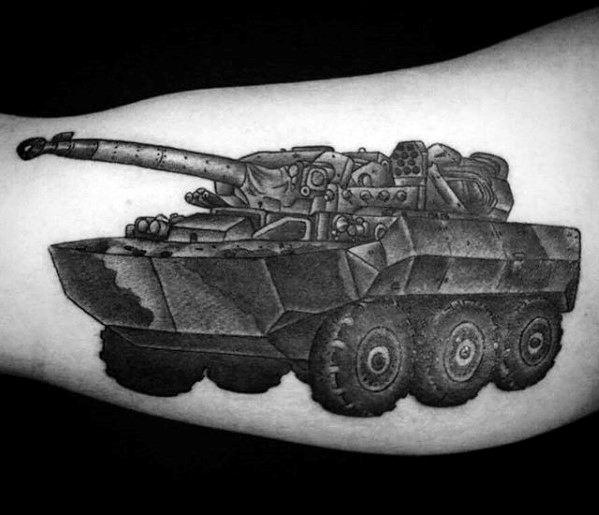 Tank Mens Tattoo Ideas