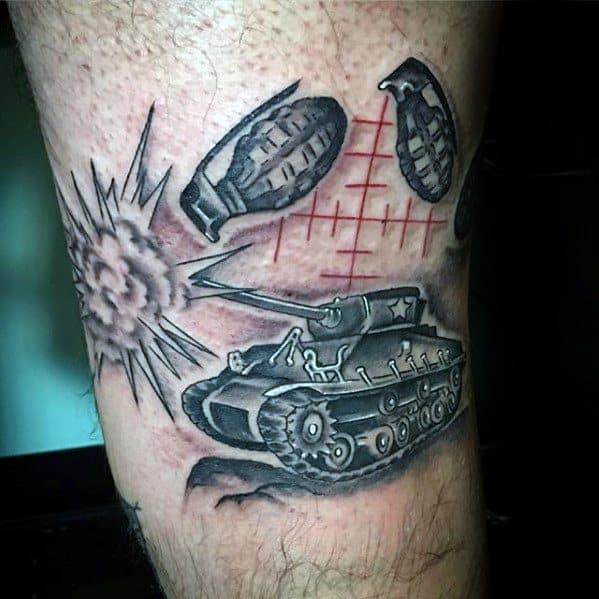 Tank Tattoo Ideas For Males