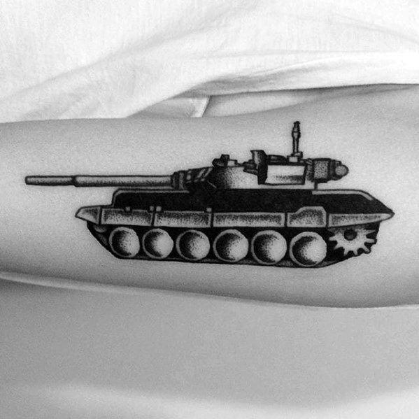 Tank Tattoos Male