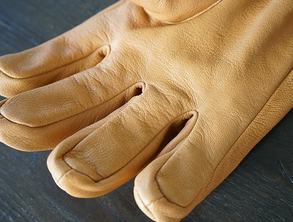 Tanned Goat Leather Palm Hestra Alpine Pro Narvik Wool Terry Gloves