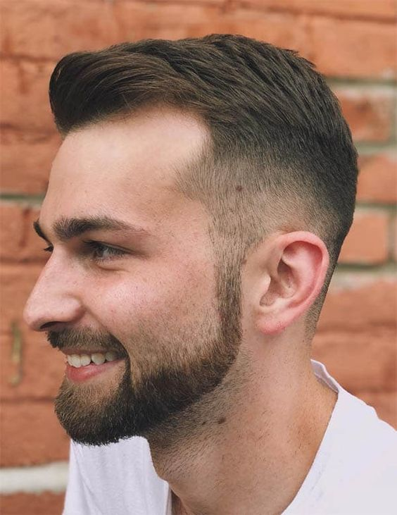 Taper Bald Fade Haircut
