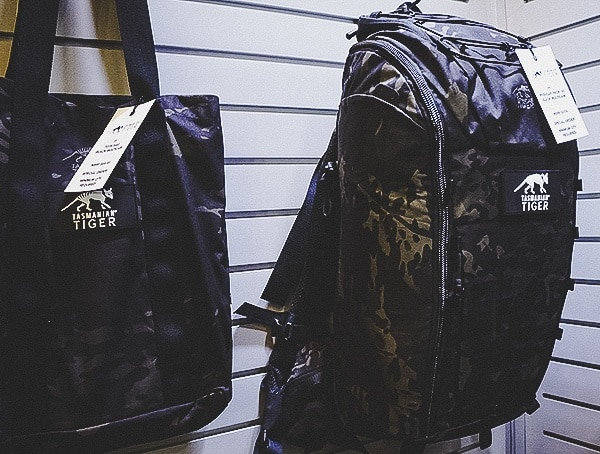 Tasmanian Tiger Shot Show 2019 Black Multicam Packs