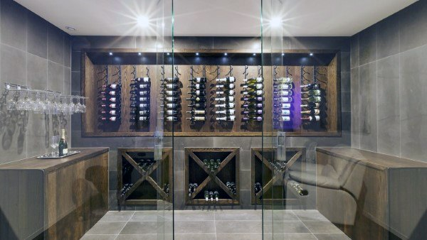 Tasting Room Wine Cellar Ideas