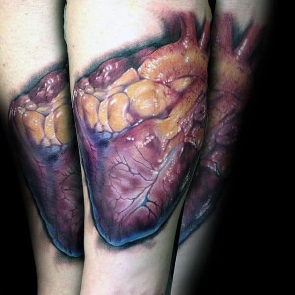 Tattoo Anatomical Designs For Men