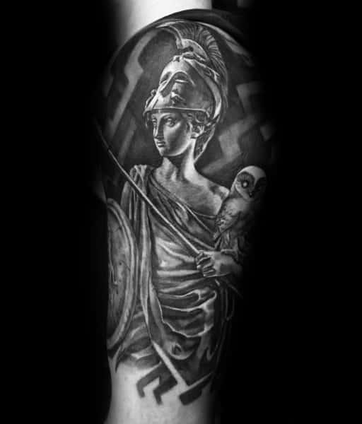 Tattoo Athena Ideas For Guys