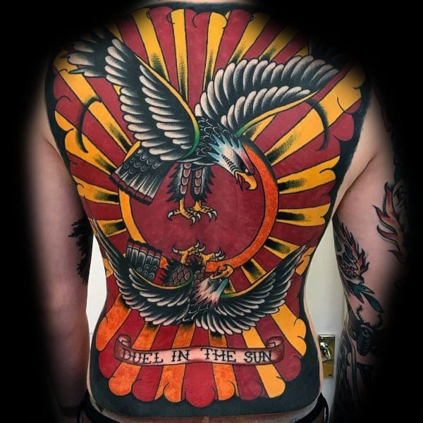 Tattoo Badass Eagle Ideas For Guys