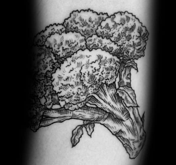 Tattoo Broccoli Ideas For Guys