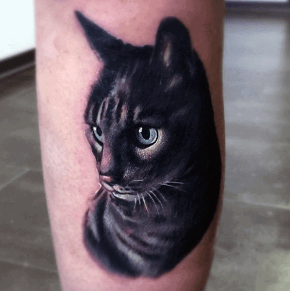 Tattoo Cat Designs For Men