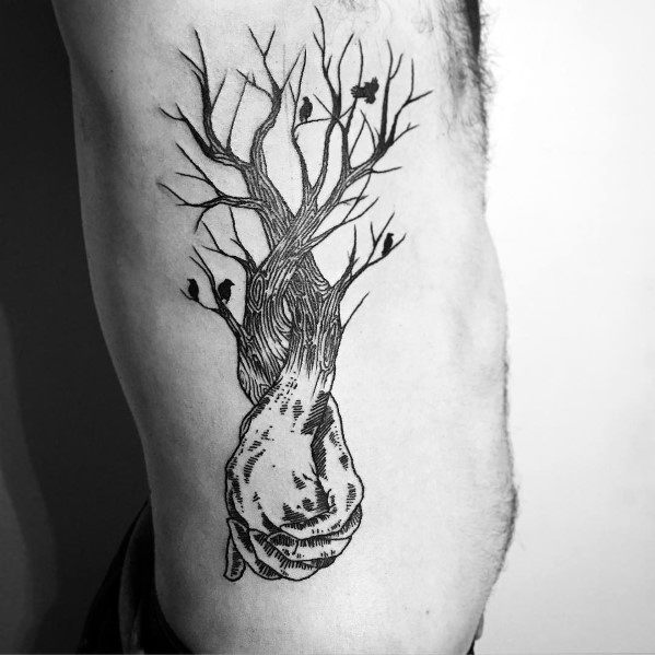 Tattoo Cool Tree Ideas For Guys