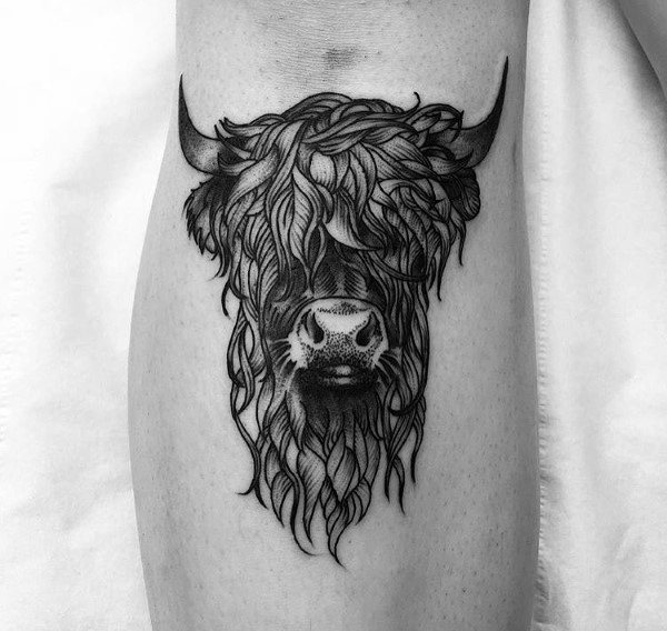 Tattoo Cow Designs For Men