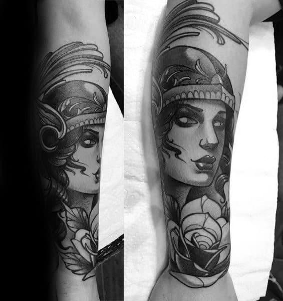 Tattoo Designs Athena