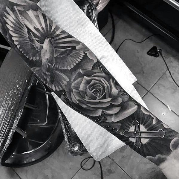 Tattoo Designs Badass Rose