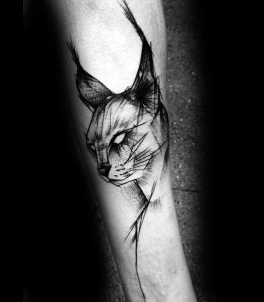 Tattoo Designs Cat Ideas For Men