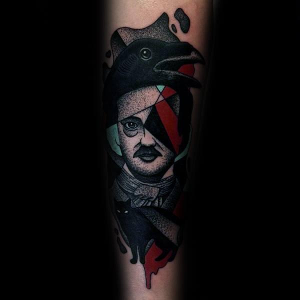 Tattoo Designs Edgar Allan Poe