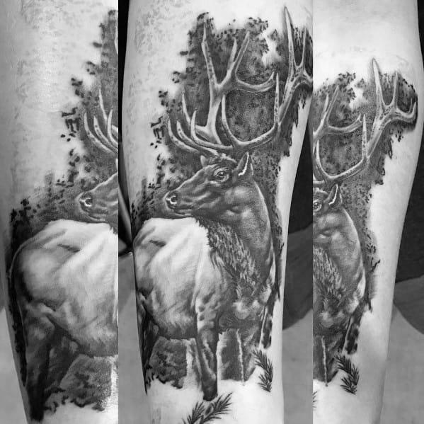 Tattoo Designs Elk