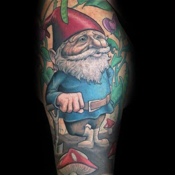 Tattoo Designs Gnome