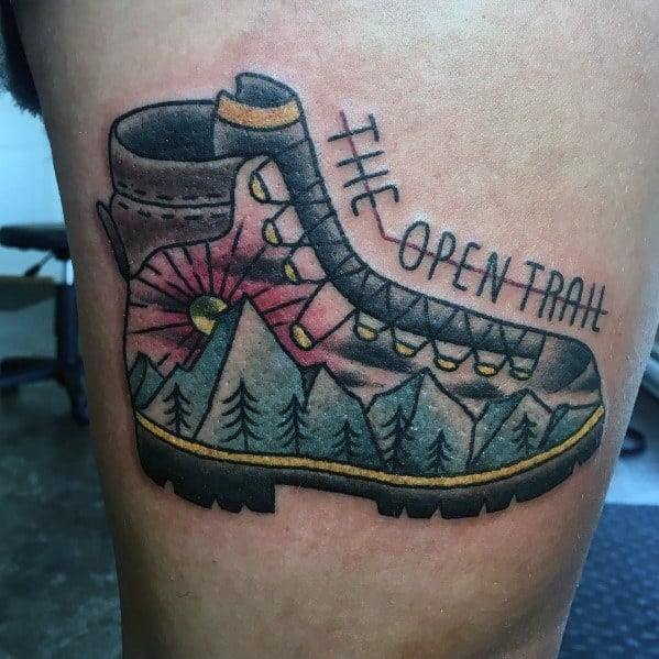 Tattoo Designs Hiking