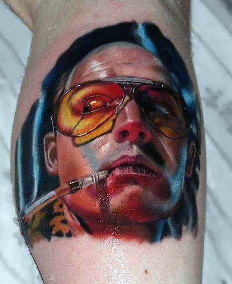 Tattoo Designs Hunter S Thompson