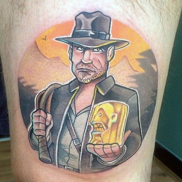 Tattoo Designs Indiana Jones