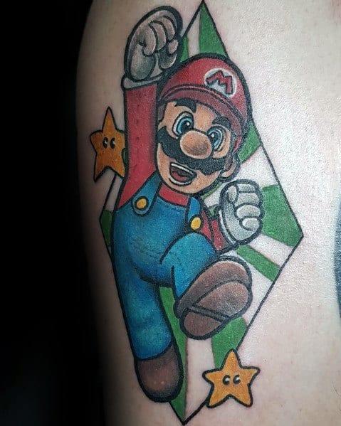 Tattoo Designs Mario Ideas For Men