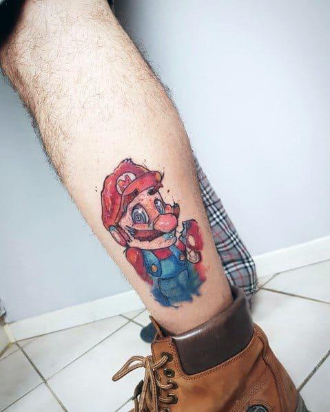 Tattoo Designs Mario