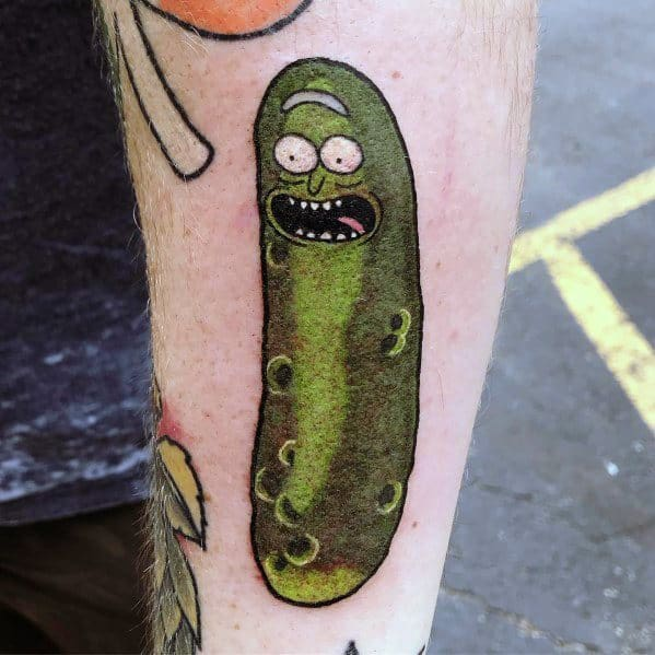 Tattoo Designs Pickle Rick And Morty