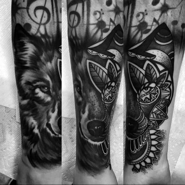 Tattoo Designs Siberian Husky