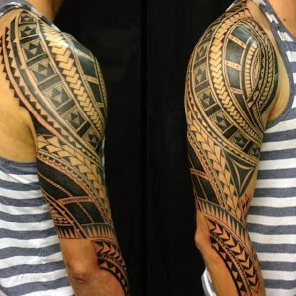 Tattoo Designs Tribal Guys Sleeve