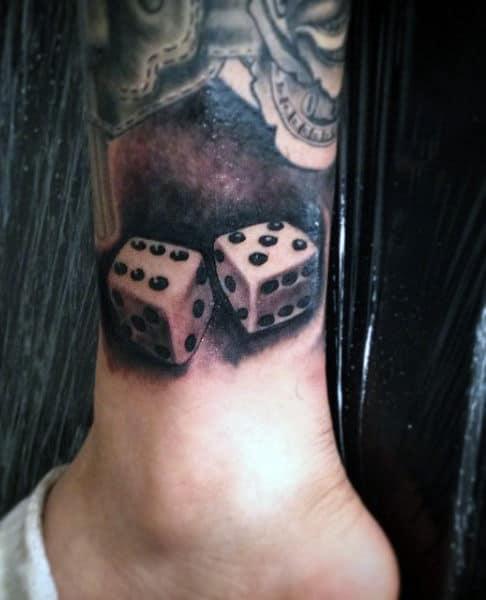 Tattoo Dice For Men