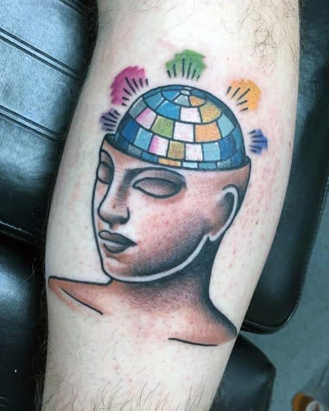 Tattoo Disco Ball Ideas For Guys