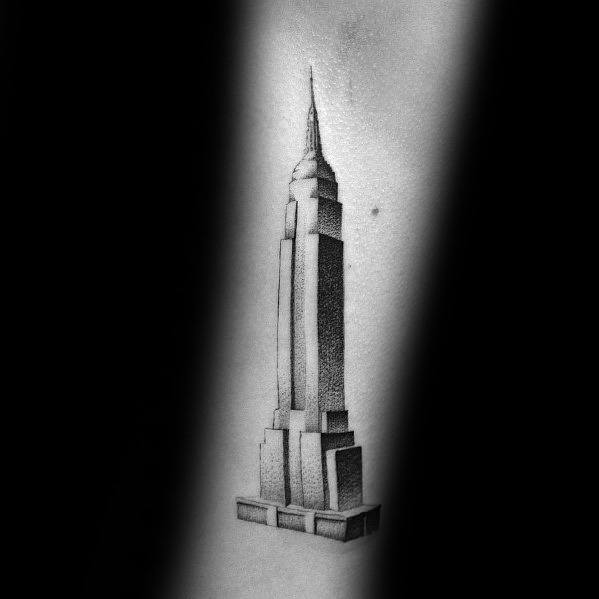 Tattoo Empire State Building Designs For Men