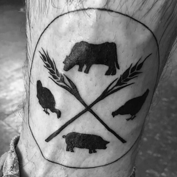 Tattoo Farming Designs For Men