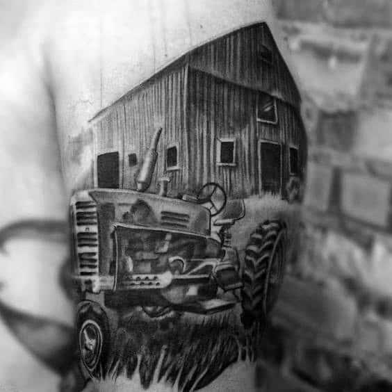 Tattoo Farming Ideas For Guys