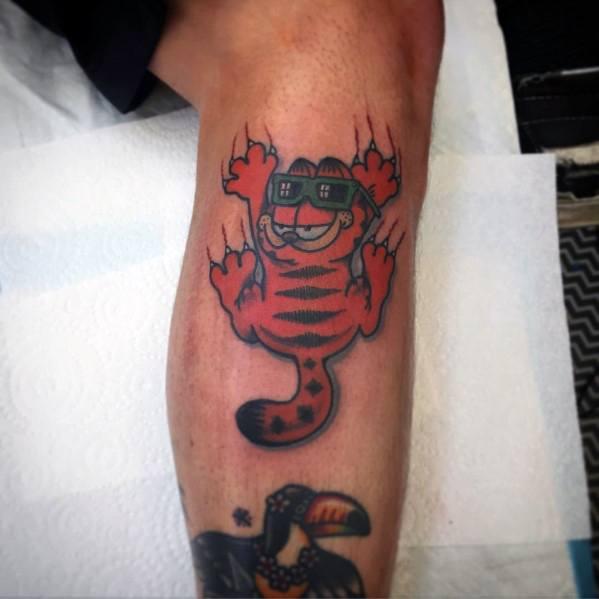 Tattoo Garfield Designs For Men
