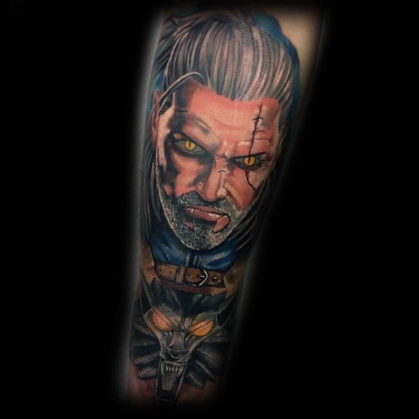 Tattoo Geralt Designs For Men
