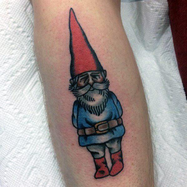 Tattoo Gnome Designs For Men
